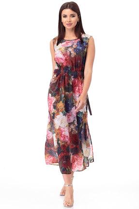 Платье Anelli 724 мультиколор фото