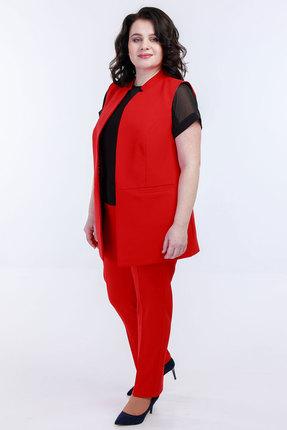 Комплект брючный Belinga 2031 красный фото