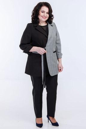 Комплект брючный Belinga 2033 черный с серым фото