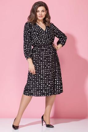 Платье Anna Majewska 1374 черный фото