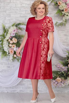 Платье Ninele 7285 малина фото