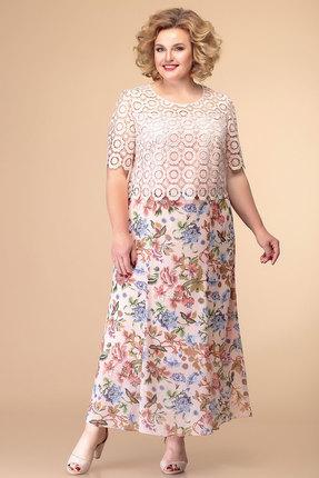 Платье Romanovich style 1-1789 пудра фото
