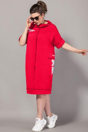 Платье Сч@стье 7085-3 красный фото
