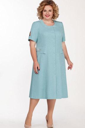 Платье Теллура-Л 1397 голубой фото