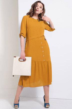 Платье Avanti Erika 954-8 горчица фото