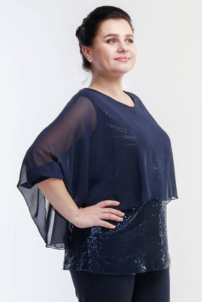 Блузка Belinga 5020 синий