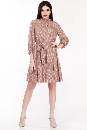 Платье Emilia А-498/4 капучино фото