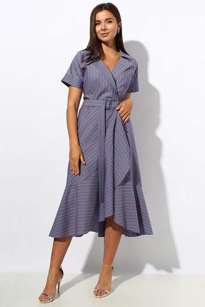 Платье Миа Мода 1160 фиолетовые тона