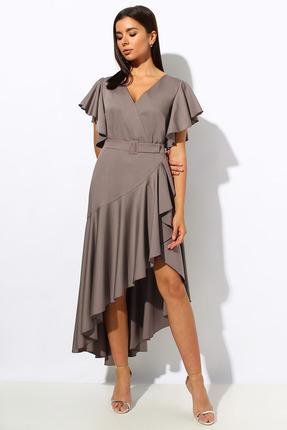 Платье Миа Мода 1162-1 капучино