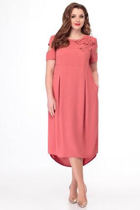 Платье БелЭкспози 1195 коралл фото