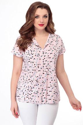 Блузка БелЭкспози 1241 розовый