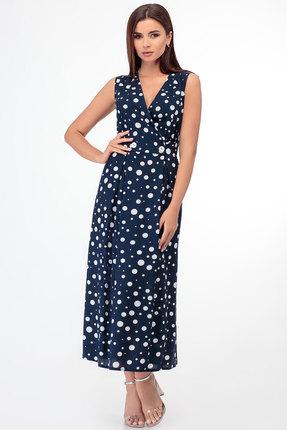 Платье БелЭкспози 1338 синий фото