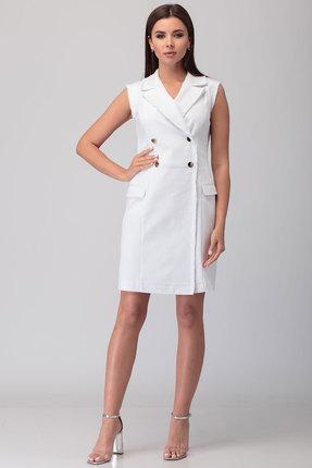 Платье Anelli 841 белый