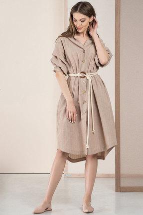 Платье Deesses 1059 песочный