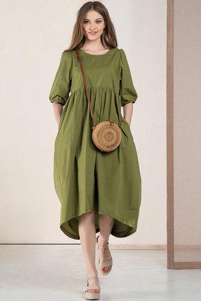 Платье Deesses 1058 хаки фото