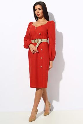 Платье Миа Мода 1148 красный фото
