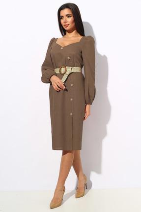 Платье Миа Мода 1148-3 темные тона