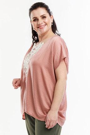 Блузка Belinga 5055 розовый фото