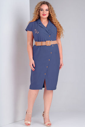 Платье Тэнси 288 синий фото