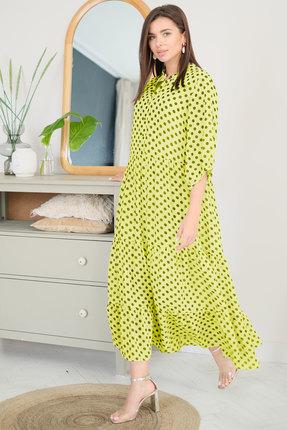 Платье Ladis Line 1228 желтый