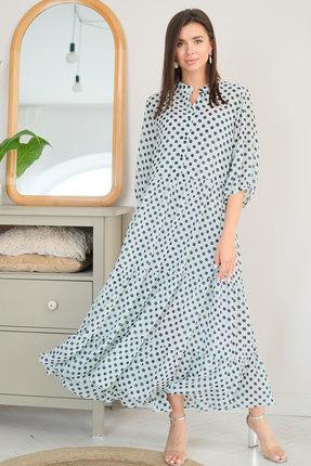 Платье Ladis Line 1228 мята фото
