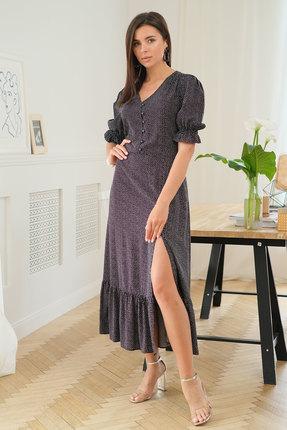 Платье Ladis Line 1230 черные тона фото