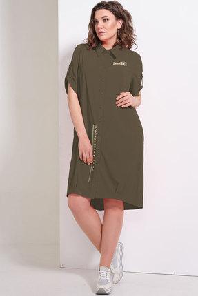 Платье Avanti Erika 964-5 болотный фото