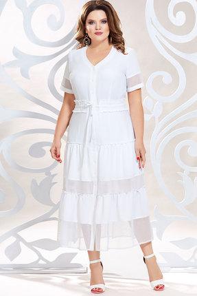 Платье Mira Fashion 4796-2 белый