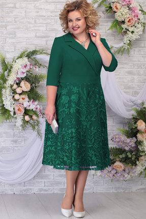 Платье Ninele 2259 изумруд фото