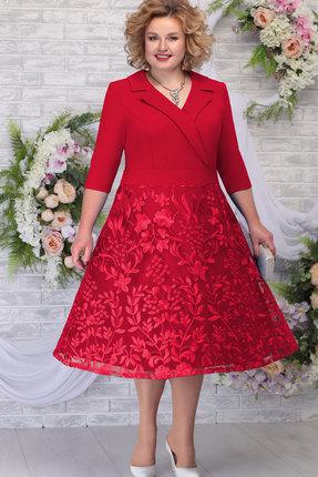 Платье Ninele 2259 красный