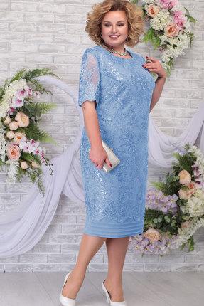 Платье Ninele 5788 голубой