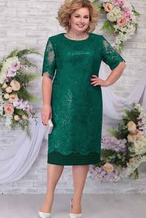 Платье Ninele 5788 изумруд