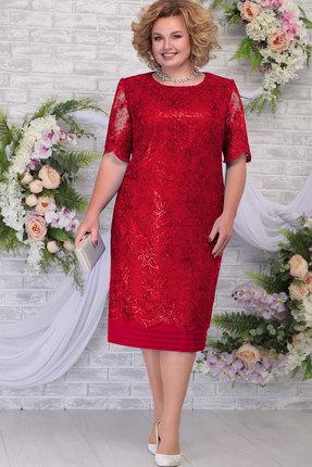 Платье Ninele 5788 красный