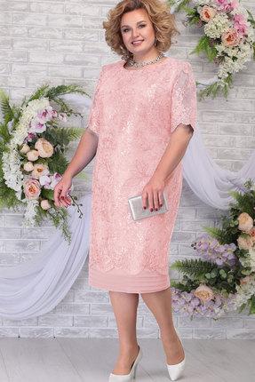 Платье Ninele 5788 пудра