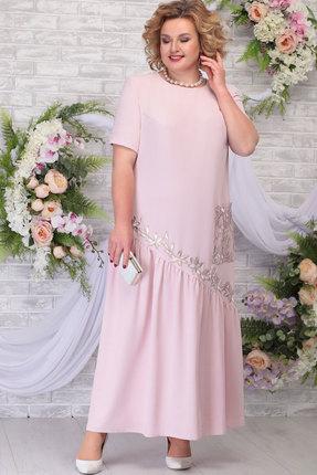 Платье Ninele 5789 пудра фото