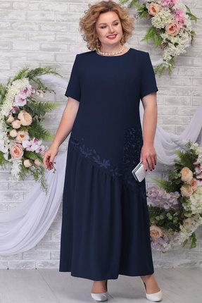 Платье Ninele 5789 тёмно-синий фото