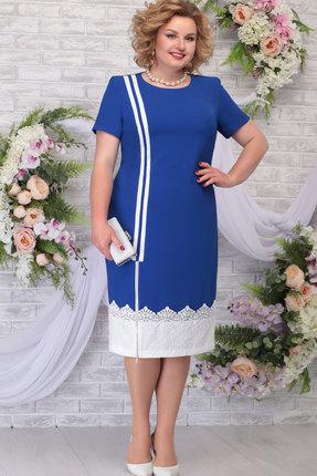 Платье Ninele 5790 василёк фото