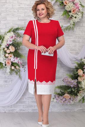 Платье Ninele 5790 красный фото