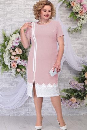 Платье Ninele 5790 пудра фото