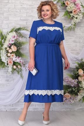 Платье Ninele 7292 василёк