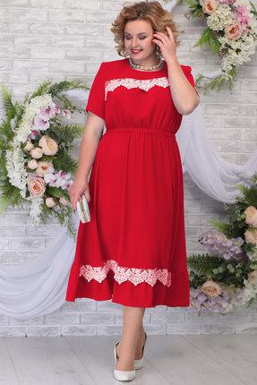 Платье Ninele 7292 красный фото