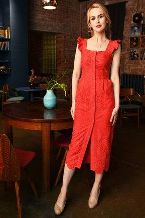 Платье Andrea Fashion AF-15-3 красный