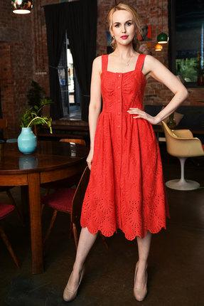 Сарафан Andrea Fashion AF-16-3 красный