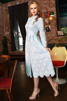 Платье Andrea Fashion AF-17-3 голубой фото