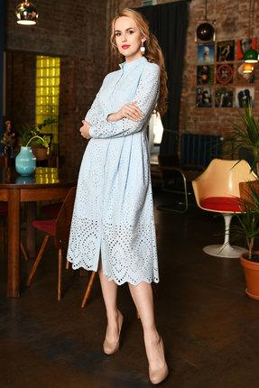Платье Andrea Fashion AF-17-4 голубой