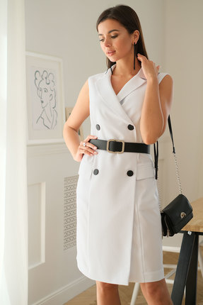 Платье Ladis Line 1235 молочный фото