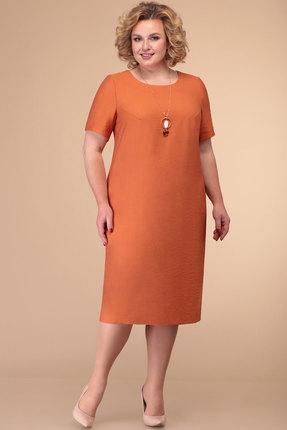 Платье Линия-Л Б-1812 терракотовый фото