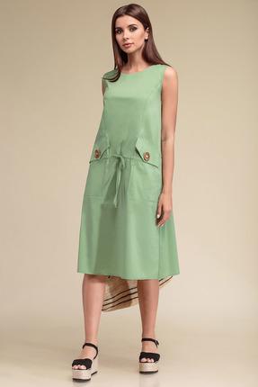 Платье Gizart 5070с салатовый