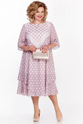 Платье Pretty 1130 розовые тона фото