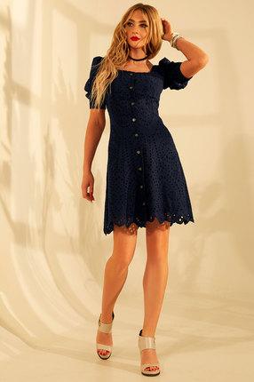 Платье Golden Valley 4662 синий фото